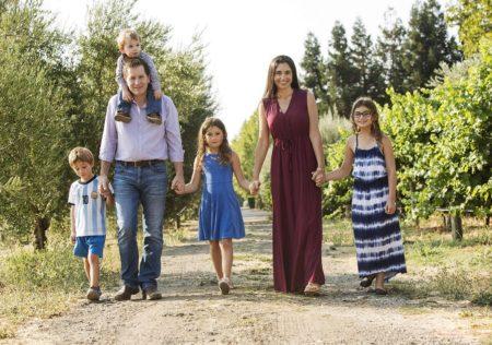 Honig Family Walking 2